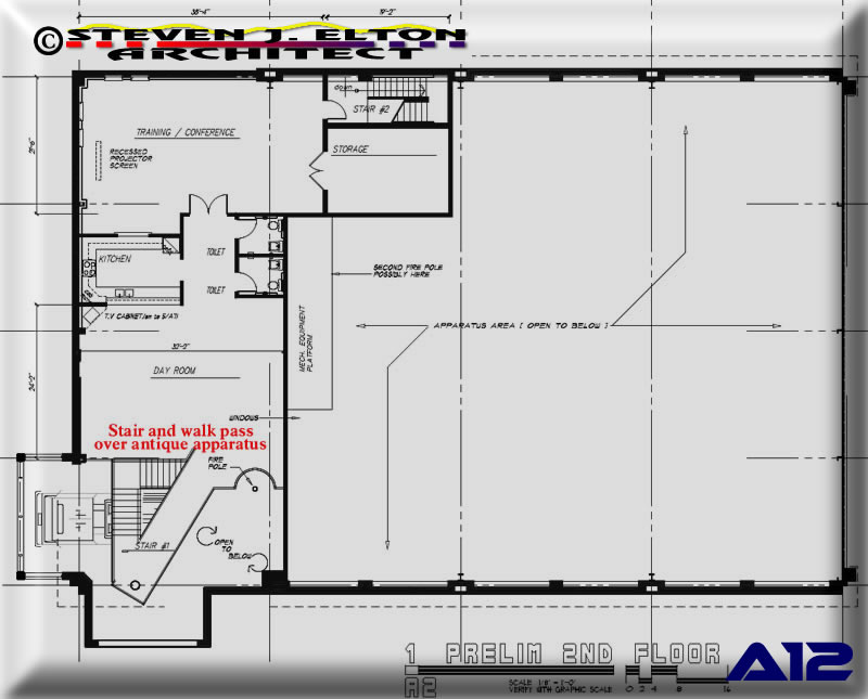 fire ambulance station design second floor plan fire station design floor plans free home design ideas