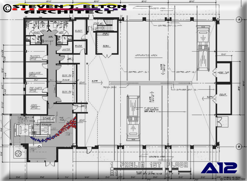 Fire station floor plans pdf thefloors co for Fire tower plans